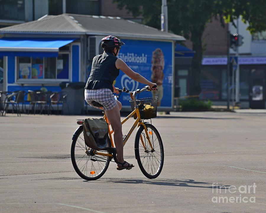 Cyclist 4 Photograph