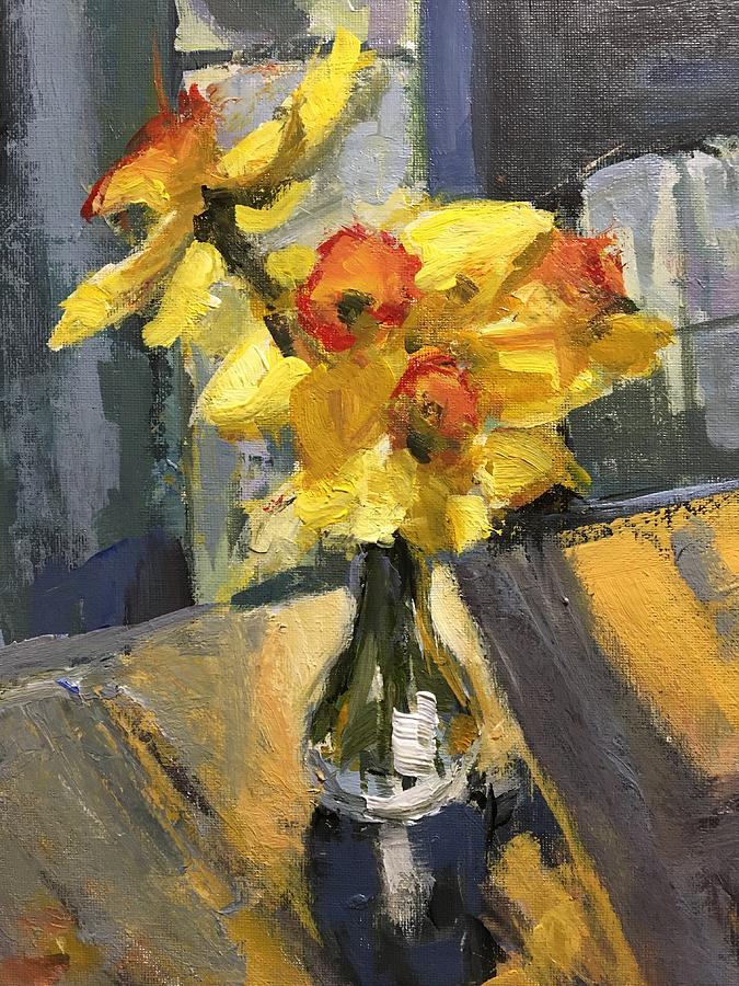Daffodil Bouquet Painting