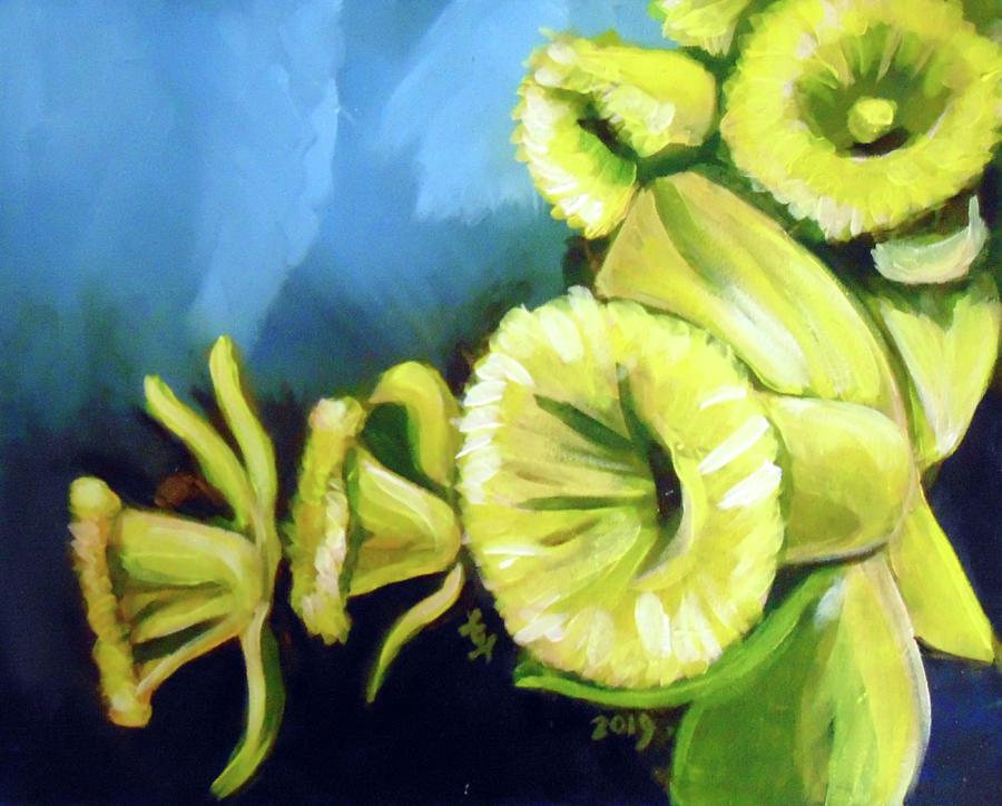 Daffodils  by Loretta Nash
