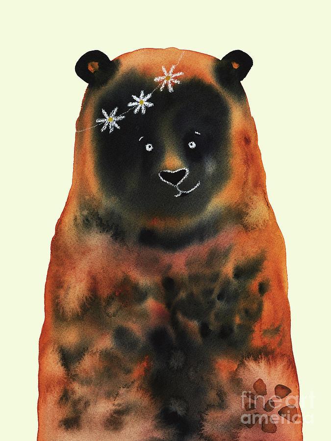 Daisy Bear Painting
