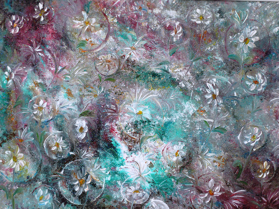 Daisy Dreamz Painting by Karin  Dawn Kelshall- Best
