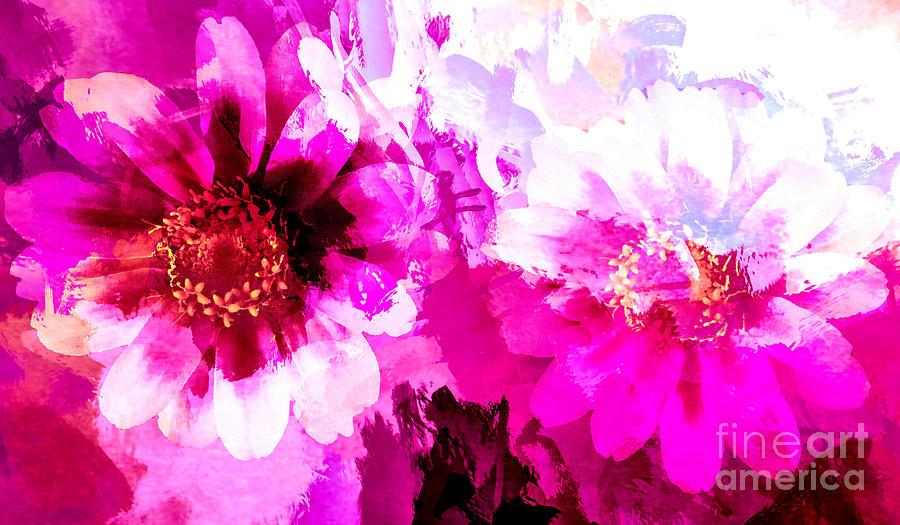 Daisy Illusion Digital Art
