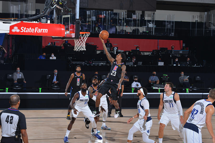 Dallas Mavericks v LA Clippers - Game One Photograph by David Sherman