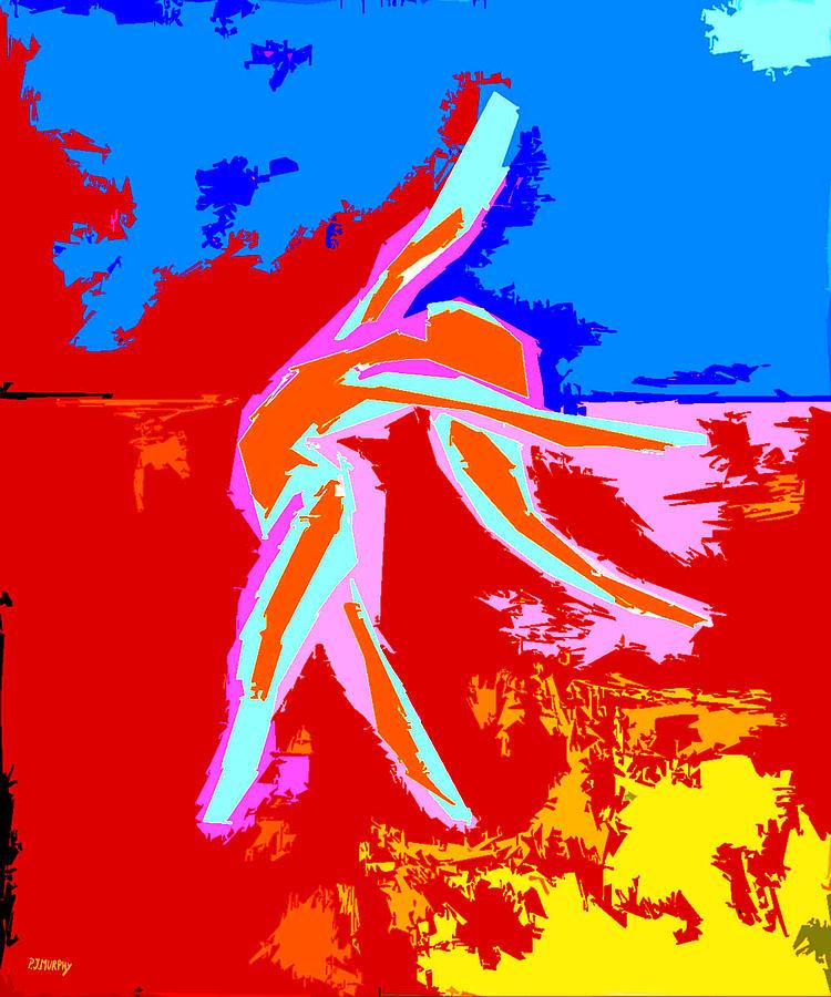 Dance Of Joy 2 Painting
