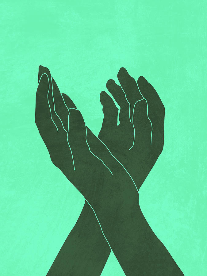 Dance Of Joy 4 - Minimal Contemporary Abstract Mixed Media