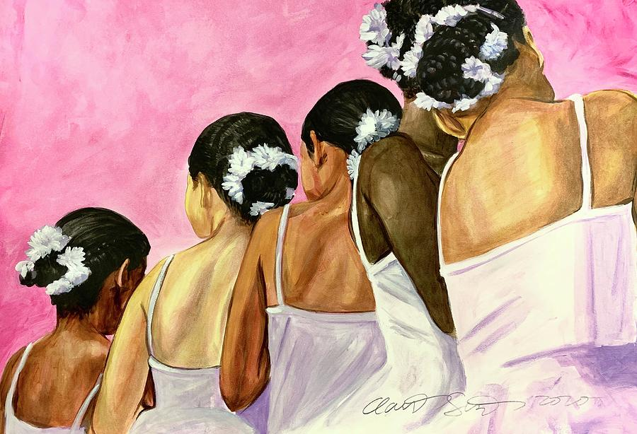 Dance Your Dance Today Painting by Clayton Singleton