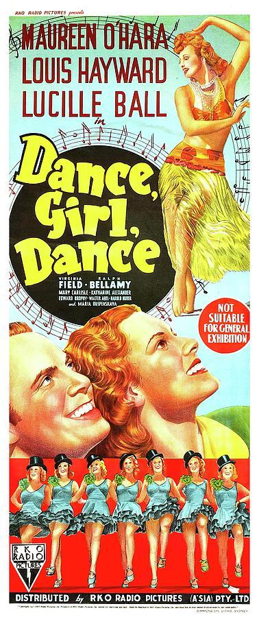 dance,girl, Dance - 1940 Mixed Media
