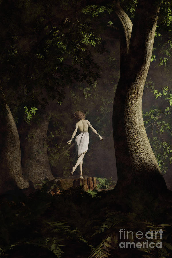 Dancer in the Woods by Clayton Bastiani