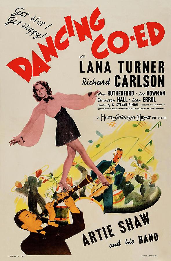 dancing Co-ed - 1939 Mixed Media