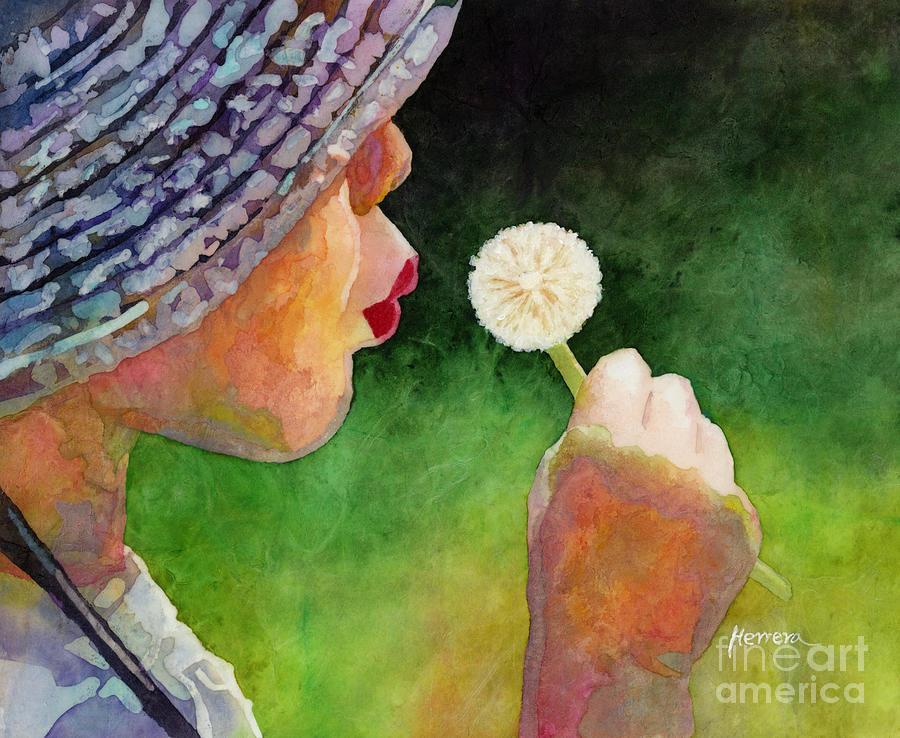 Dandelion Wish Painting