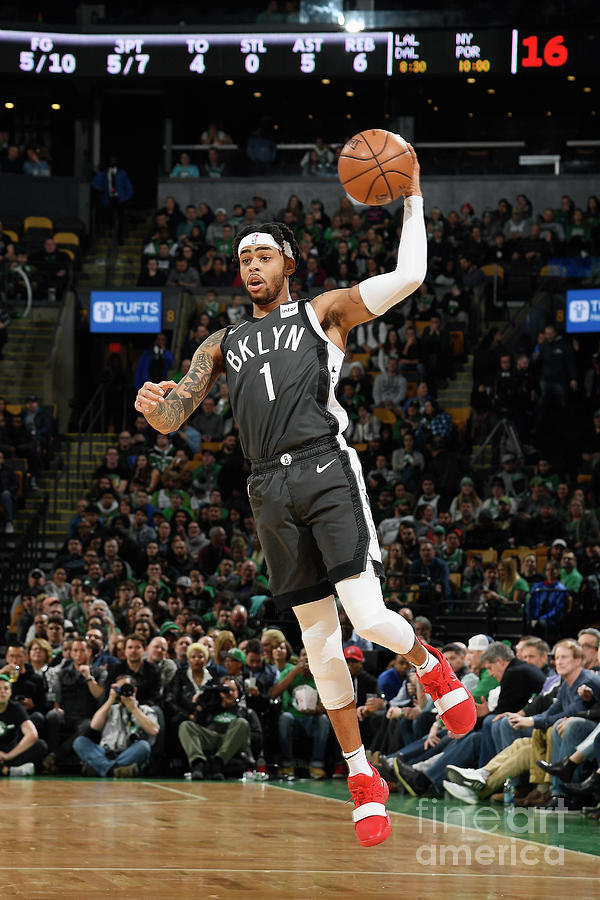 Dangelo Russell Photograph by Brian Babineau