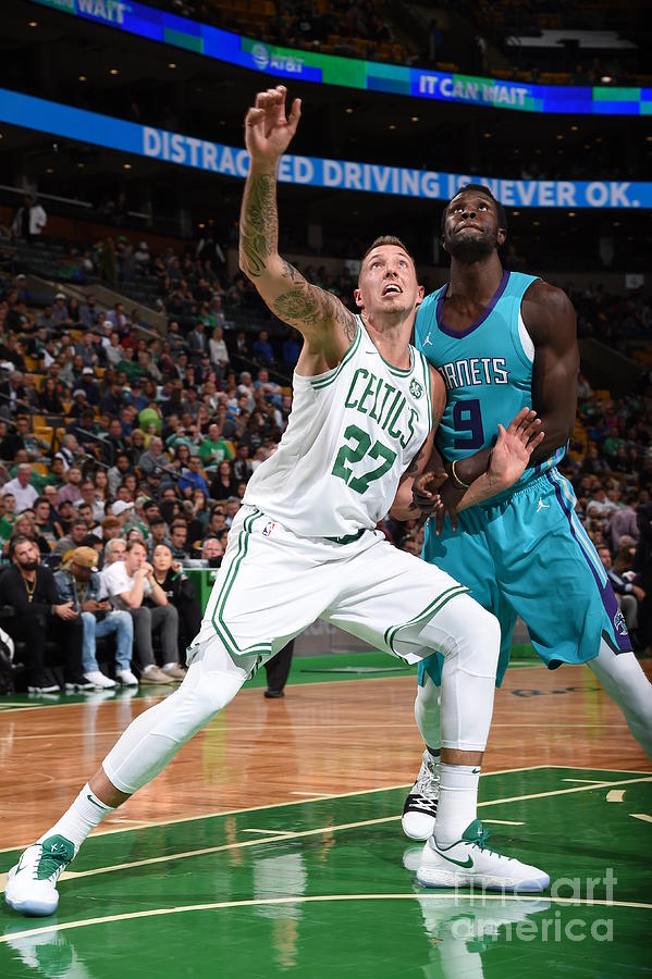 Daniel Theis and Mangok Mathiang Photograph by Brian Babineau