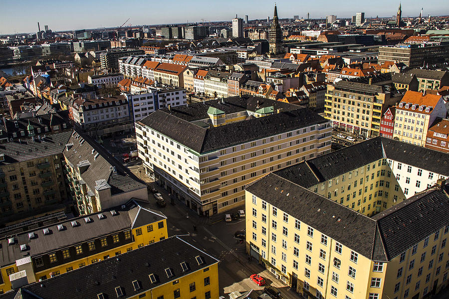 Danish Housing As Biggest Banks Face Law Restricting Mortgage Brokering Photograph by Bloomberg