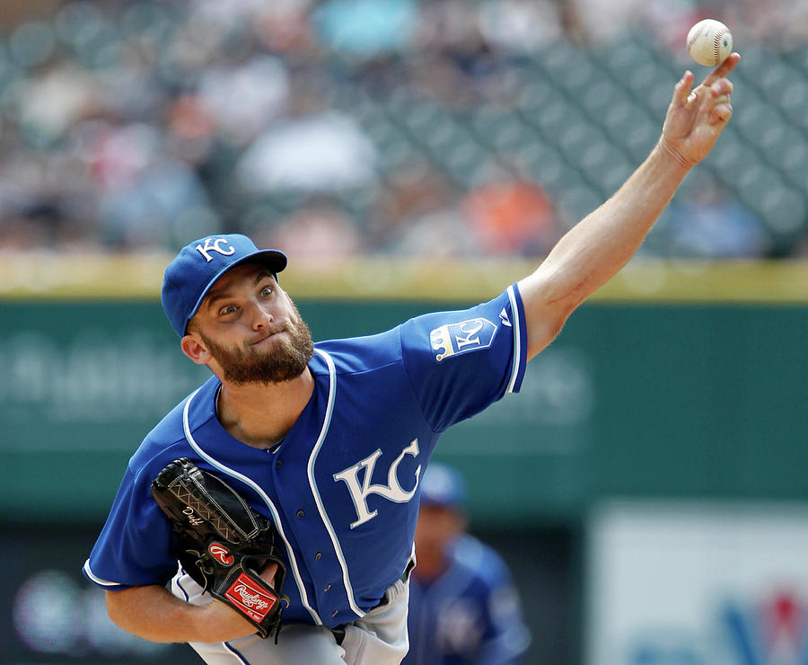 Danny Duffy Photograph by Duane Burleson