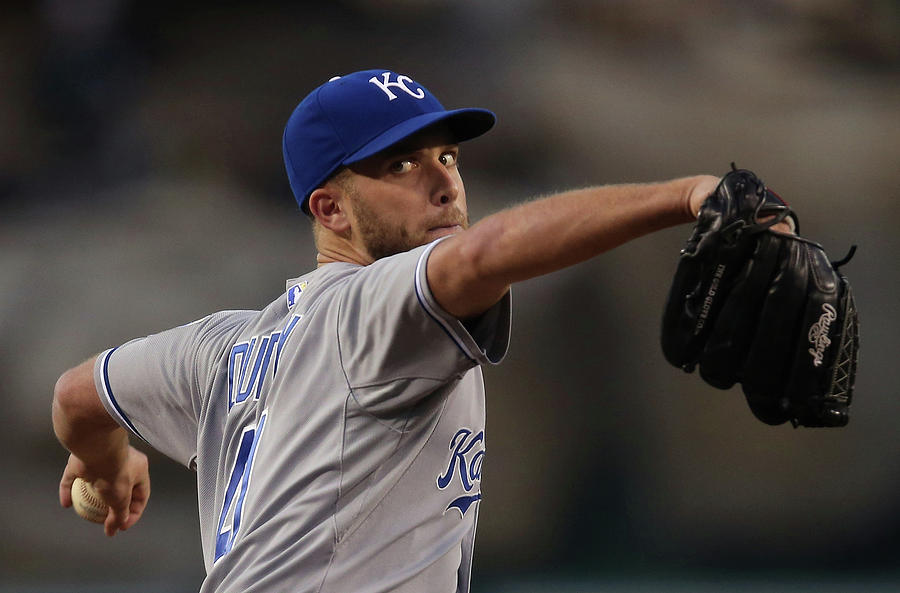 Danny Duffy Photograph by Jeff Gross