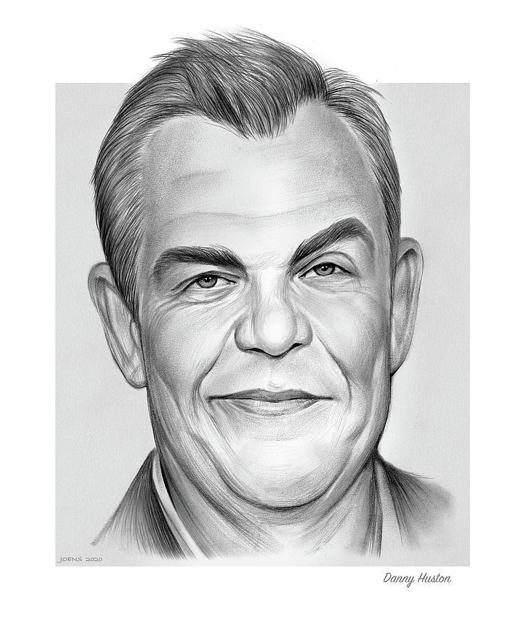 Danny Huston - Pencil Drawing