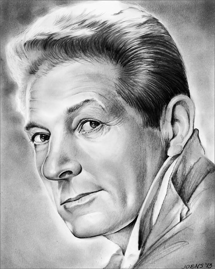 Danny Kaye - Pencil Drawing