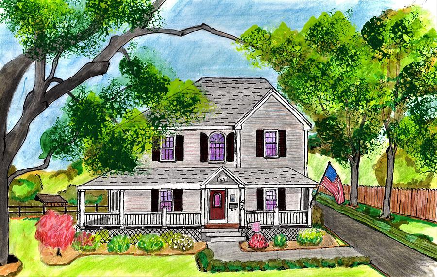 Danvers Home Drawing