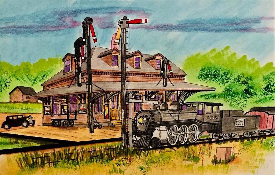 Danvers Station Drawing