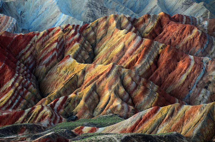 Danxia Landform Photograph by MelindaChan