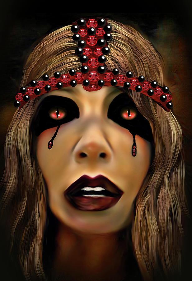 Dark Harlequin Digital Art
