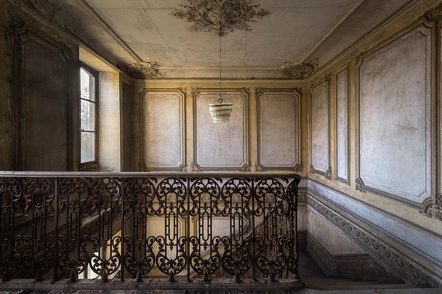 Dark Staircase by Roman Robroek