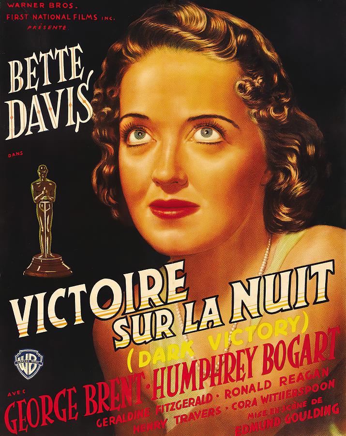 dark Victory, With Bette Davis, 1939 Mixed Media