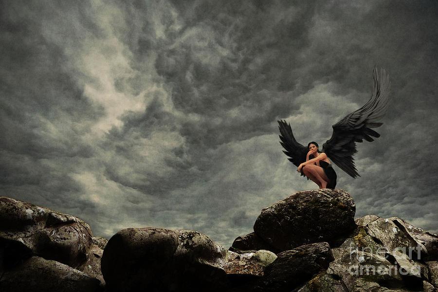 Dark Winged  by Clayton Bastiani