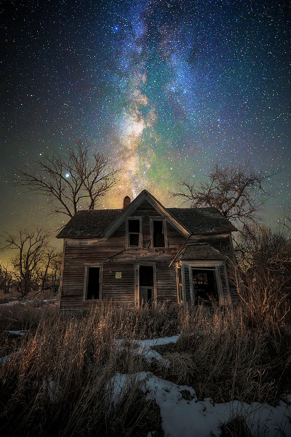 Dark Places Photograph - Darkly Dreaming by Aaron J Groen