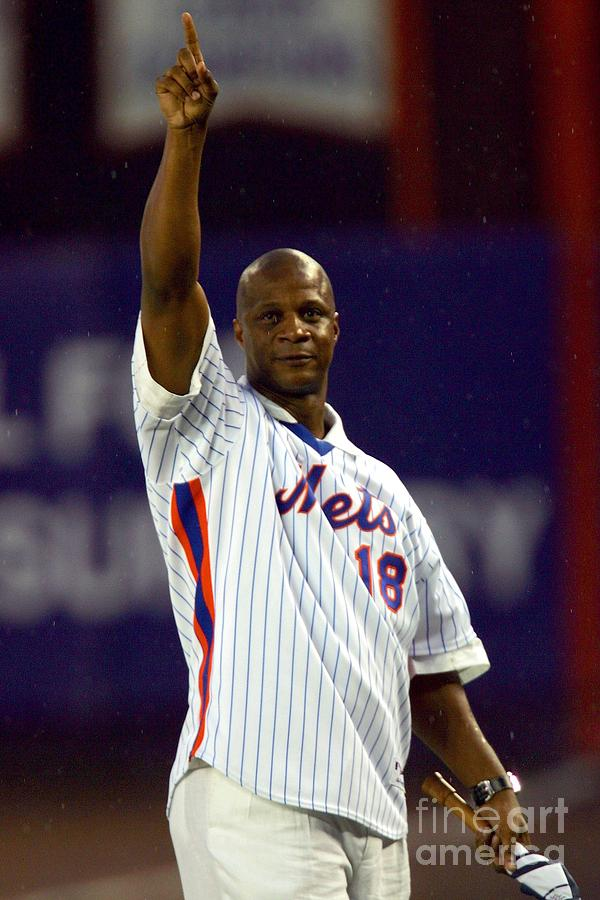 Darryl Strawberry Photograph by Chris Trotman