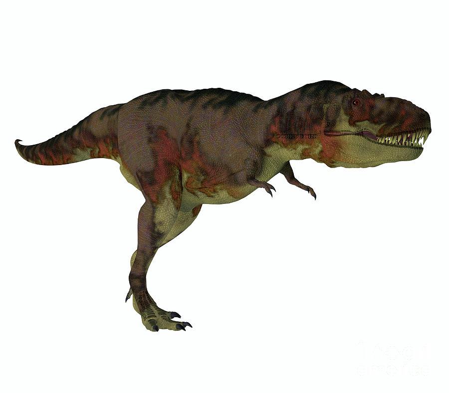 Daspletosaurus Dinosaur Hunter Digital Art