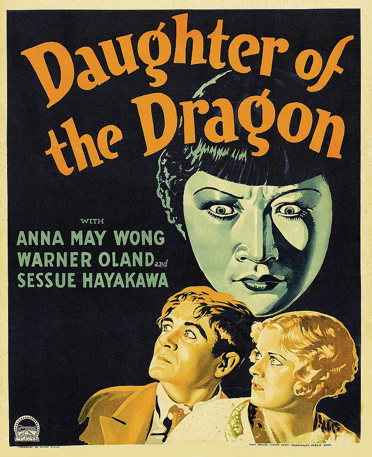 daughter Of The Dragon, With Ann May Wong And Warner Oland, 1931 Mixed Media