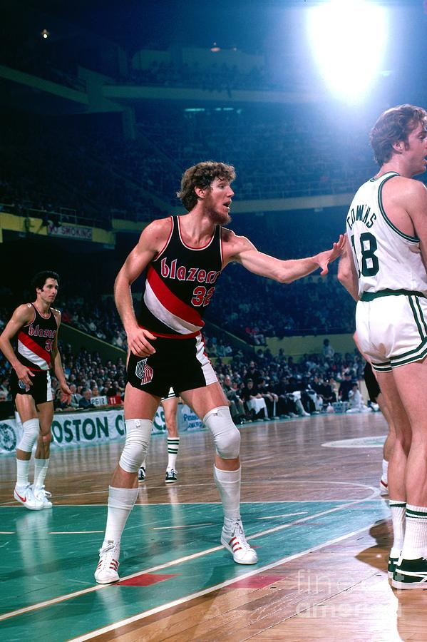 Dave Cowens and Bill Walton Photograph by Dick Raphael