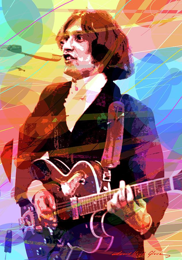 Dave Davies The Kinks Painting