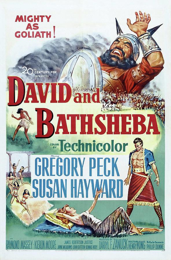 david And Bathsheba, With Gregory Peck And Susan Hayward, 1951 Mixed Media