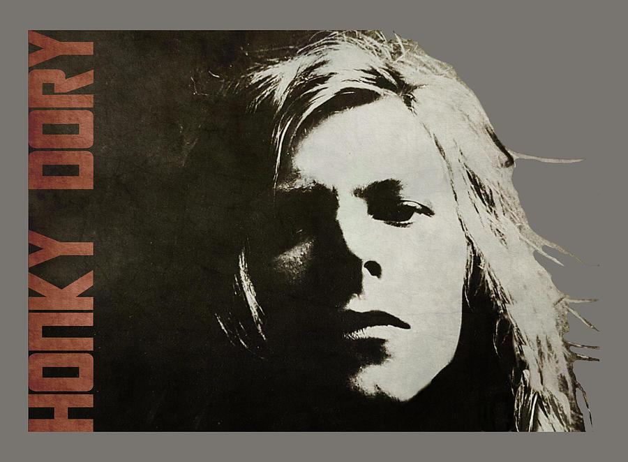 David Bowie - Its a God-Awful Sad Affair Digital Art by Paul Lovering