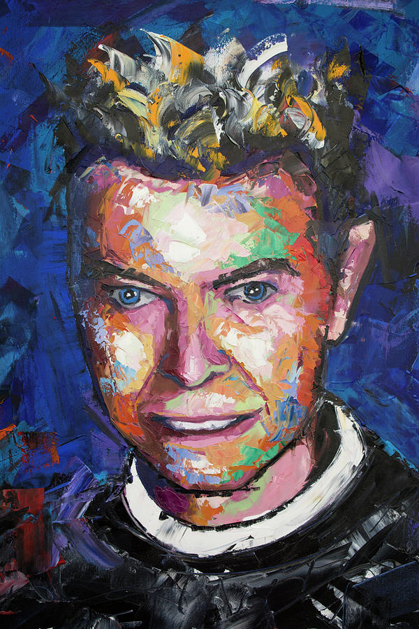 David Bowie Painting - David Bowie VI by Richard Day