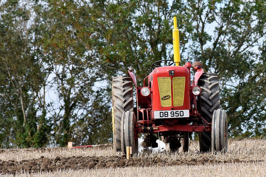 David Brown Implematic Tractor Photograph