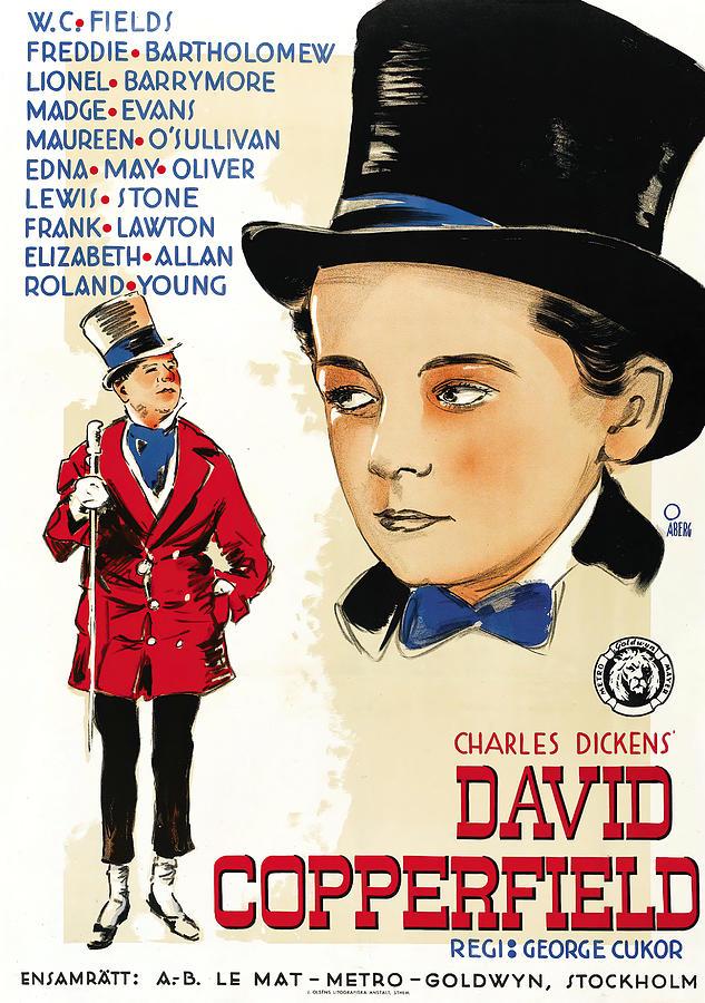 david Copperfield, With W.c. Fields, 1935 Mixed Media