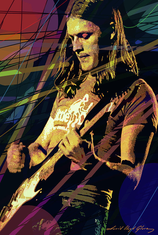 David Gilmour  Solo Painting