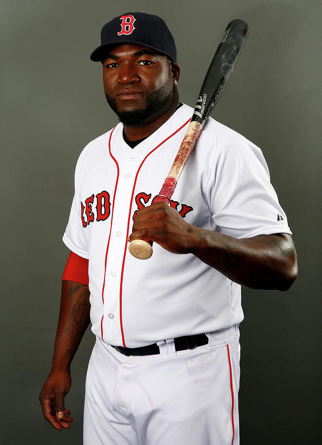 David Ortiz Photograph by Elsa