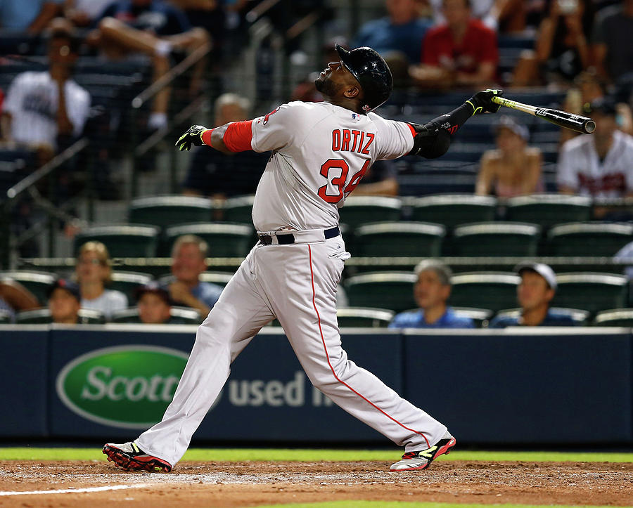 David Ortiz Photograph by Mike Zarrilli