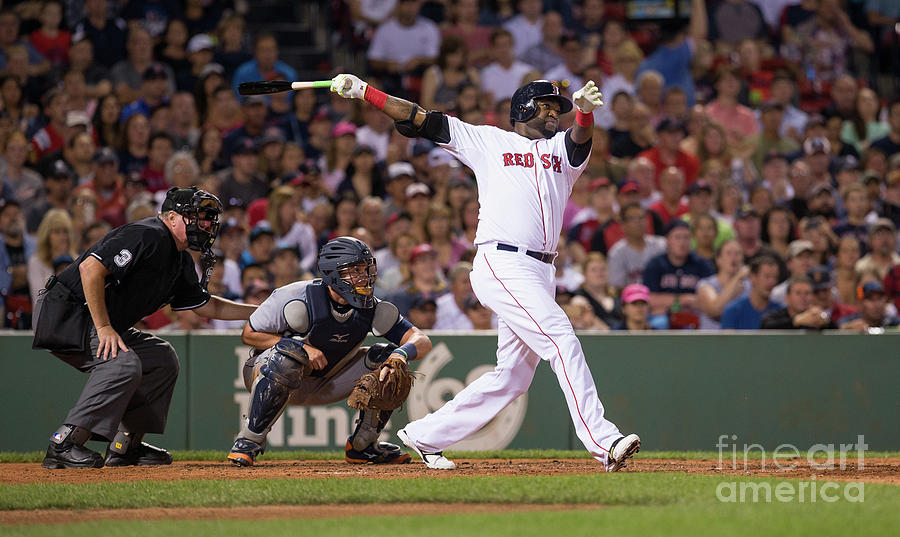 David Ortiz Photograph by Rich Gagnon