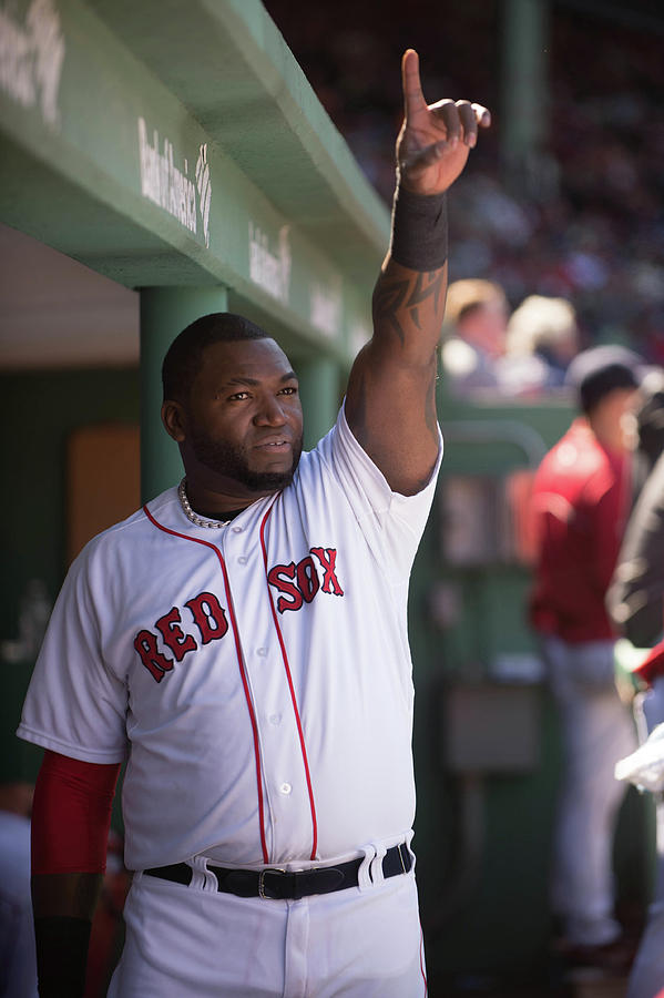David Ortiz Photograph by Rob Tringali