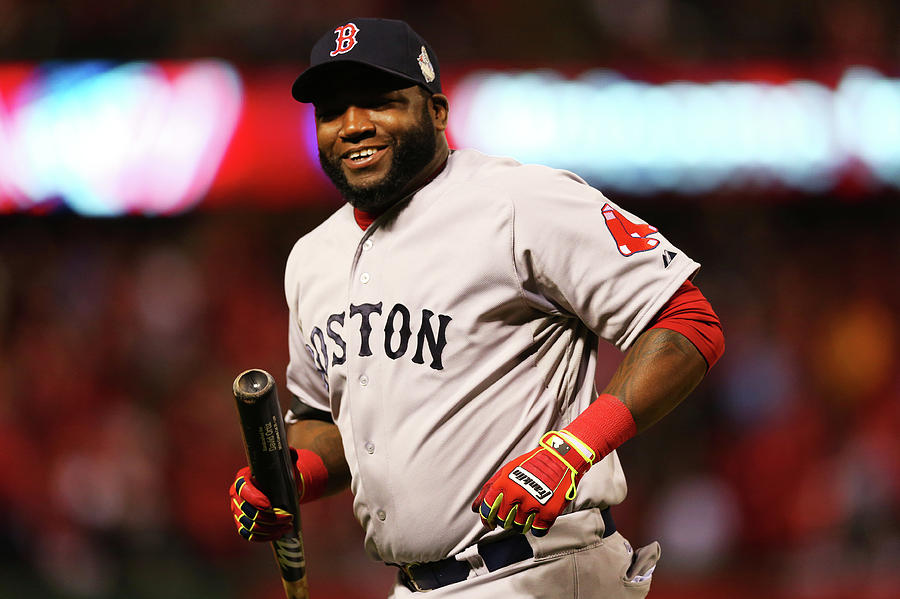 David Ortiz Photograph by Ronald Martinez