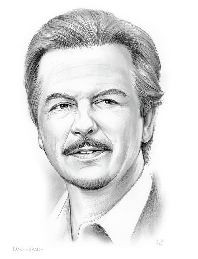 David Spade Drawing