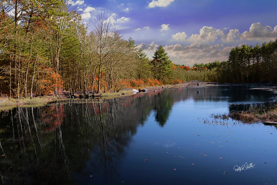 Dawley Pond Pachaug State Forest,Eastern Connecticut. by Rusty R Smith
