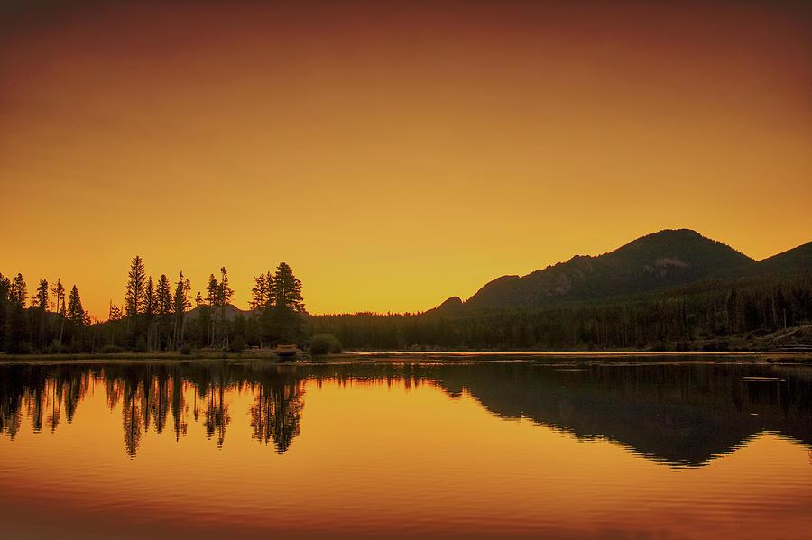Dawn Photograph - Dawn At Sprague Lake by Zev Steinhardt