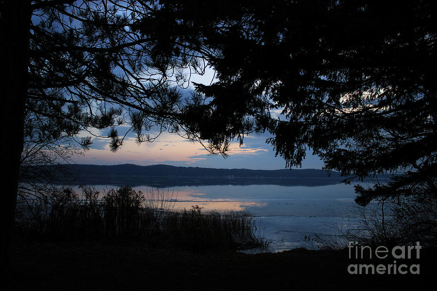 dawn on platte lake by AnnMarie Parson-McNamara