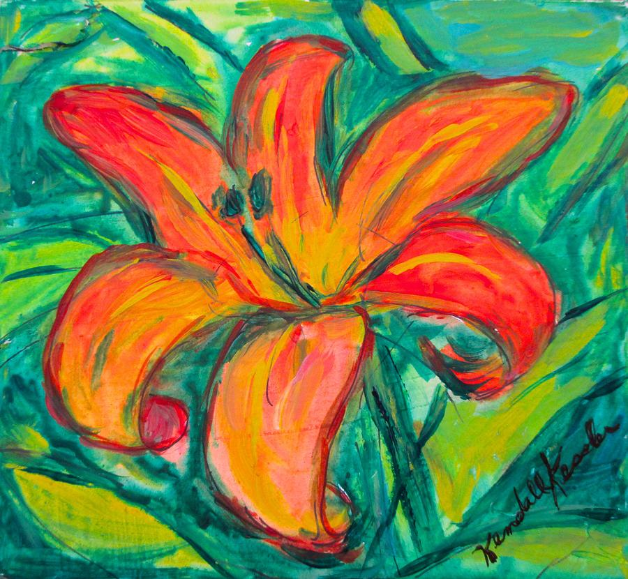 Day of the Lily by Kendall Kessler